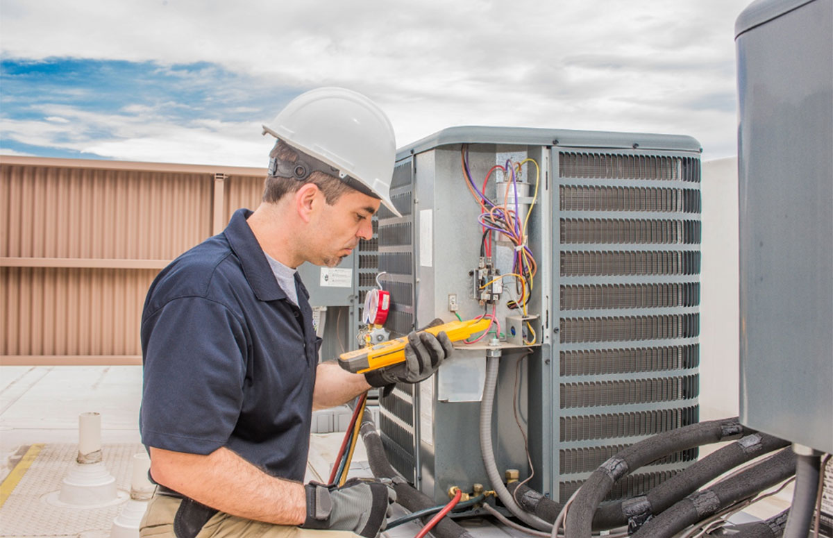 How often should I service my air conditioning unit?